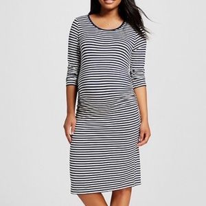 Liz Lange Maternity Striped Dress